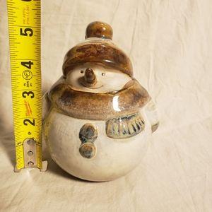 Vintage Accents - Vintage Earthenware Snowman Figure